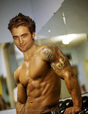 tattoos Robert Pattinson